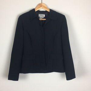 Style & Co. Collection Petite Blazer Black Sz 6P